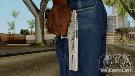 Original HD Colt 45 para GTA San Andreas tercera pantalla