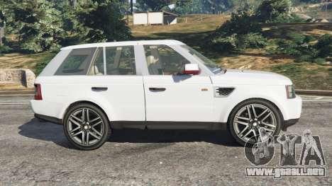 GTA 5 Range Rover Sport 2010 v0.7 [Beta] vista lateral izquierda