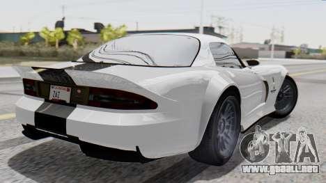 GTA 5 Banshee para GTA San Andreas left