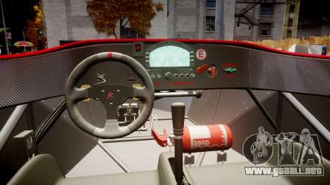 Radical SR8 RX 2011 [27] para GTA 4 vista hacia atrás