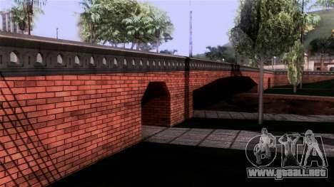 New Glen Park para GTA San Andreas segunda pantalla