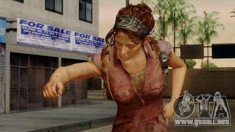 Tess from The Last of Us para GTA San Andreas