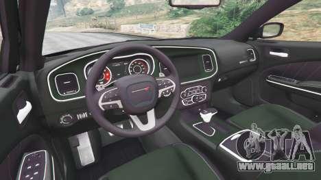 GTA 5 Dodge Charger RT 2015 v1.1 vista lateral derecha