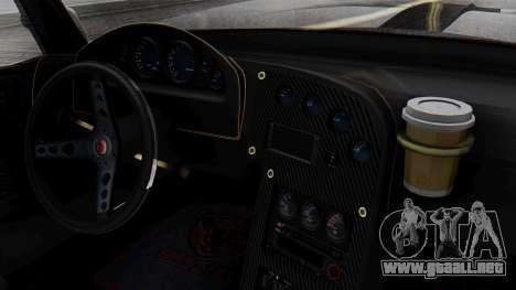 GTA 5 Banshee para GTA San Andreas vista hacia atrás
