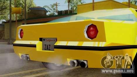 Banshee from Vice City Stories para la visión correcta GTA San Andreas