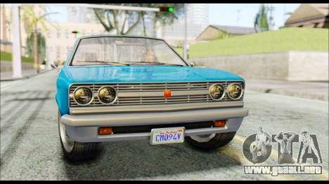 GTA 5 Cheval Picador IVF para la visión correcta GTA San Andreas