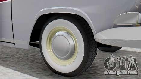 GAZ 21 Volga v2 para GTA San Andreas vista posterior izquierda