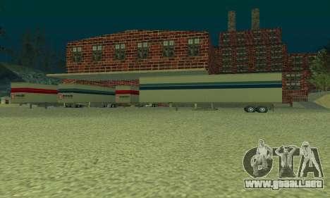 La empresa petrolera LUKOIL para GTA San Andreas tercera pantalla