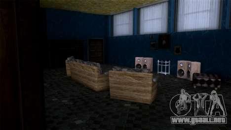 Retextured interior de la mansión de MADD Dogg para GTA San Andreas sucesivamente de pantalla