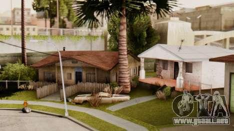 HD Grove Street para GTA San Andreas tercera pantalla