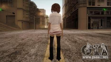 Rasta School Girl para GTA San Andreas tercera pantalla