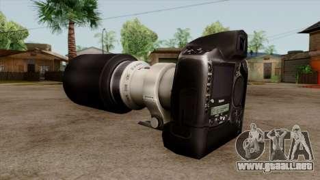 Original HD Camera para GTA San Andreas segunda pantalla