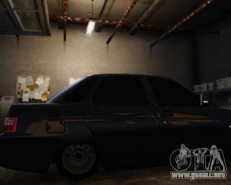 VAZ 2110 para GTA 4 vista hacia atrás