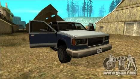 New Yosemite v2 para GTA San Andreas
