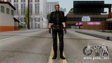 Wesker Midnight para GTA San Andreas segunda pantalla