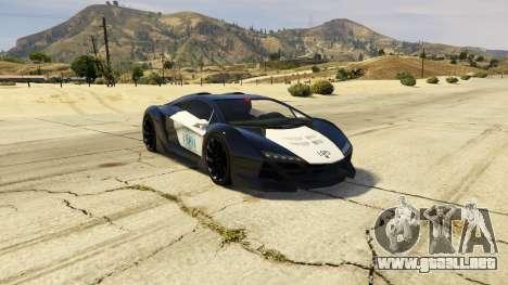 Lamborghini Police Zentorno LSPD v3.0 para GTA 5