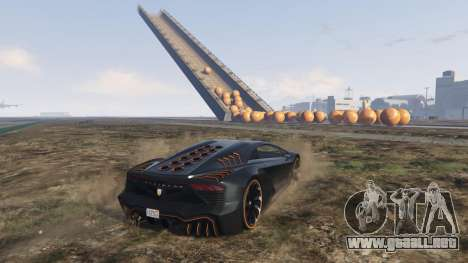 GTA 5 Race the balls v1.2 octavo captura de pantalla