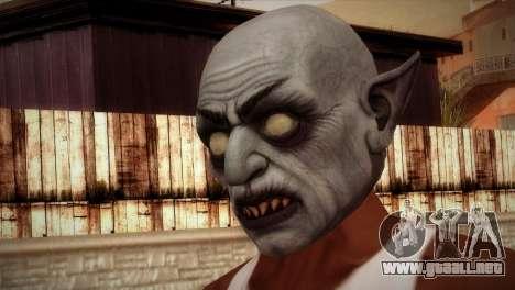 Vampiro para GTA San Andreas tercera pantalla