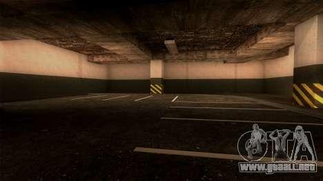 Nueva LSPD Aparcamiento para GTA San Andreas quinta pantalla