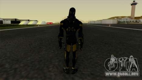 Ant-Man Yellow Jacket para GTA San Andreas tercera pantalla