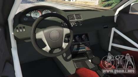 GTA 5 BMW M3 GTR E46 Most Wanted v1.2 vista lateral trasera derecha