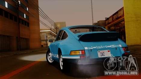 Porsche 911 Carrera RS 2.7 Sport (911) 1972 HQLM para la visión correcta GTA San Andreas