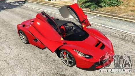 Ferrari LaFerrari 2015 v0.5 para GTA 5