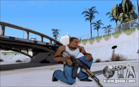 AK-47 Soviet para GTA San Andreas tercera pantalla