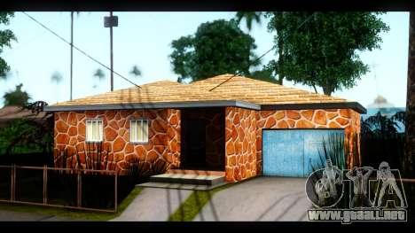 Nuevas texturas de las casas alrededor de grove  para GTA San Andreas segunda pantalla
