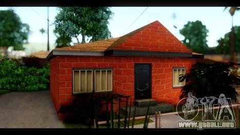 Nuevas texturas de las casas alrededor de grove  para GTA San Andreas sucesivamente de pantalla