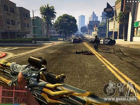 AK-47 Bestia para GTA 5