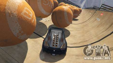 GTA 5 Race the balls v1.2 sexta captura de pantalla
