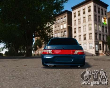 VAZ 2110 para GTA 4 visión correcta