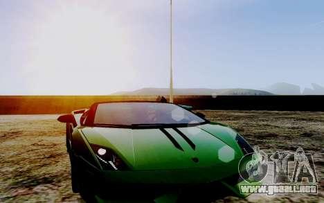 ENB Series HQ Graphics v2 para GTA San Andreas sexta pantalla
