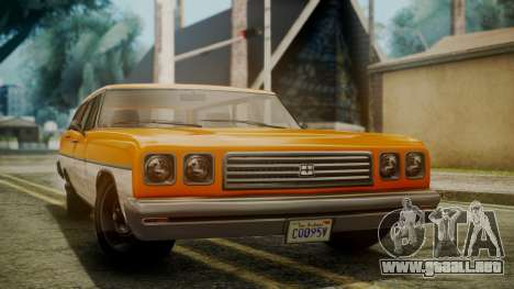 GTA 5 Dundreary Regina para la visión correcta GTA San Andreas