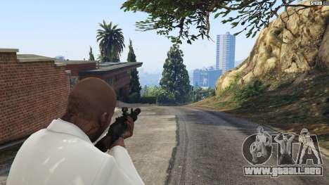 GTA 5 Battlefield 4 AK-12 segunda captura de pantalla