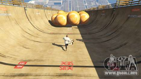 GTA 5 Race the balls v1.2 segunda captura de pantalla