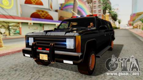 FBI Rancher with Lightbars para GTA San Andreas