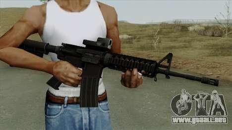 AR-15 Trijicon para GTA San Andreas tercera pantalla