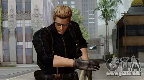 Wesker Midnight para GTA San Andreas