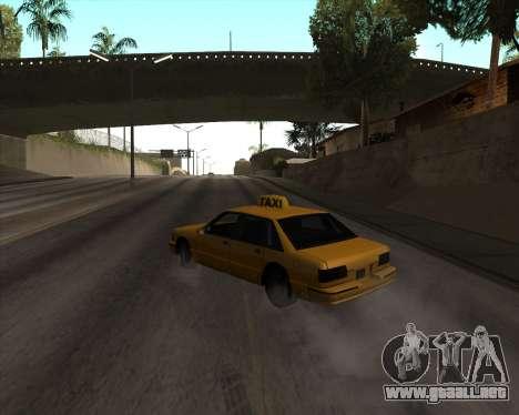 Drift para GTA San Andreas tercera pantalla