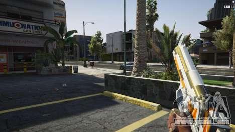 GTA 5 Asiimov Pistol.50 cuarto captura de pantalla