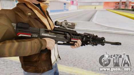 Sniper Rifle 8x Scope para GTA San Andreas