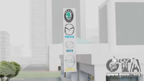 El Concesionario MAGR-Auto para GTA San Andreas tercera pantalla