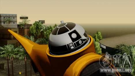 Star Wars N-1 Naboo Starfighter para la visión correcta GTA San Andreas