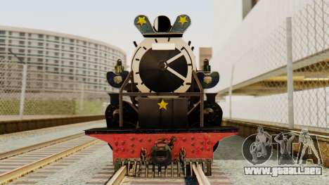 CC5019 Indonesian Steam Locomotive v1.0 para GTA San Andreas vista posterior izquierda