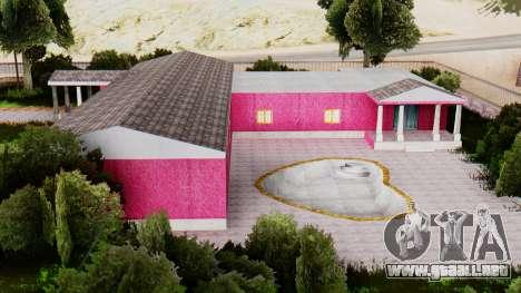 Nuevas texturas de el club en Las Venturas para GTA San Andreas tercera pantalla