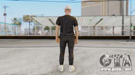 Personalized Skin from GTA Online para GTA San Andreas tercera pantalla