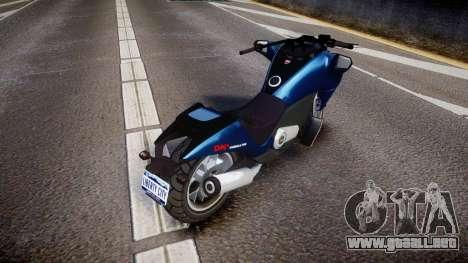 GTA V Dinka Vindicator para GTA 4 Vista posterior izquierda