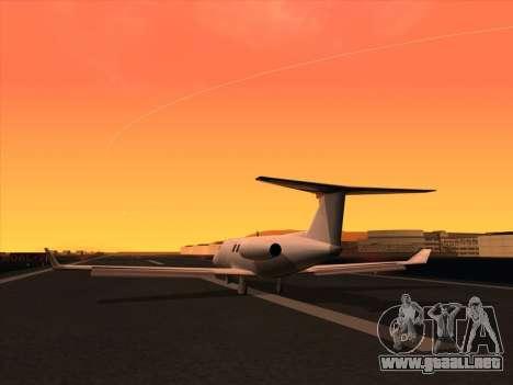 Ultimate Graphics Mod 2.0 para GTA San Andreas sucesivamente de pantalla